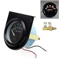 52 mm Thermomètre Jauge Température Eau Avec Aiguille Voiture 40-120 ℃ LED
