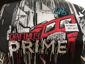 TRANSFORMERS OPTIMUS PRIME HANDMADE TRIPLE LAYERS COTTON/POLYESTER MASK-WASHABLE