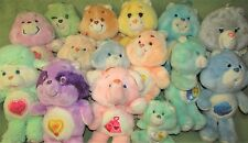 15 Vintage CARE BEARS & COUSINS 1980s Kenner GRAMS with SHAWL Hugs n Tugs +MORE