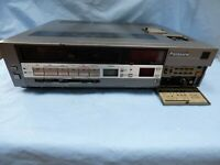 vintage Panasonic NV-788 VHS PAL Player Video Cassette Recorder JAPAN for Repair