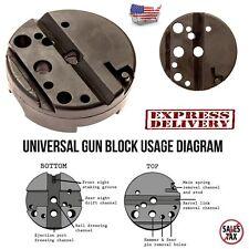 Universal Firearm Durable Bench Block Gunsmith Handgun Gunsmithing Tools Pistols