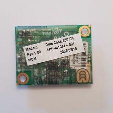 HP Compaq nx7400 módem Board 441074-001