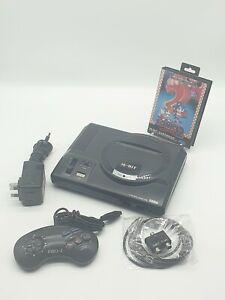 Sega megadrive console, 1 games 1 controller power & tv cable