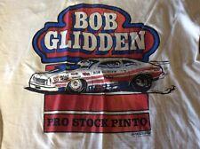 Rare 1970s Vintage BOB  GLIDDEN size L nhra drag racing nmra