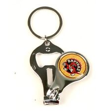 (2) NEW Toronto Raptors 3 IN 1 KEYCHAIN, Bottle Opener, Nail Clippers