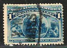 US Amazing Old Fine Used Stamp         US#40