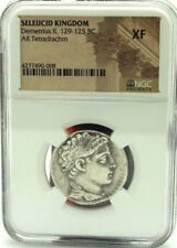 Seleucid Kingdom Demetrius II, 129-125 BC AR Tetradrachm NGE