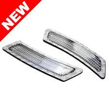 2011+ BMW F10 5-SERIES BUMPER REFLECTOR LIGHTS - CRYSTAL CLEAR