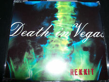 Death In Vegas Rekkit (Australian) CD Single – Like New