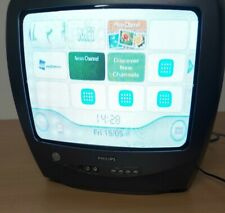 Philips TV 14'' CRT for Retro Gaming Rare Model 14PT1356/05 - no remote WORKING