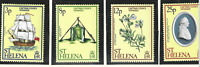 St. Helena Stamps Scott #324 To 327, Mint Never Hinged
