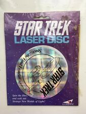 PLAYMATES STAR TREK NEXT GENERATION LASER DISC COLLECTORS EDITION FIGURE