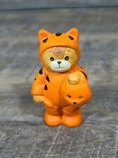 Lucy & Me Halloween Tiger Bear Lucy Rigg Enesco 1986 Rare