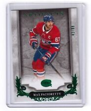 2018-19 Upper Deck Artifacts Emerald Max Pacioretty Montreal Canadiens 42/99