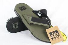 New Reef Men's Fanning Low Flip Flop Sandals Size 13 Olive