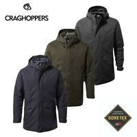 Craghoppers Mens Struan Insulated Hooded GORE-TEX Waterproof Jacket RRP £250