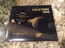 CaliComm 2004 CD + DVD DJ Drez Del the Funky Zion I Abstract Rude Haiku D'Etat