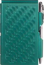 #2219 Wellspring Flip Note w/Pen - Emerald Green Travel Notepad