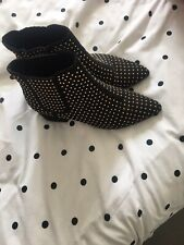 Womens Studded Ankle Boots Size 7