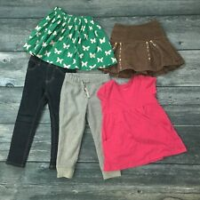LOT Bottoms Mini Boden Lauren Gymboree Crew Cuts Gap / Skirt Dress Pant Size 4 5