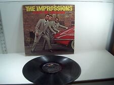 THE IMPRESSIONS  ABC493 -  KEEP ON PUSHING