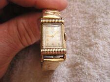 Vintage Art Deco Elgin Watch 15 Jewels 10Kt Gold Filled