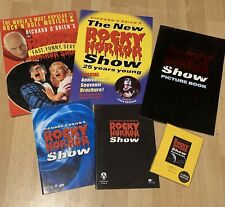 More details for the rocky horror show souvenir programme/brochures & collectors edition postcard