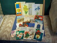 HALLMARK ONLY Vintage Mixed Lot 26 Greeting Cards 1930-80