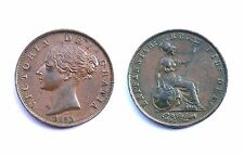 Half Penny 1853 Great Britain. Victoria. Cuivre/ Copper. Qualité!
