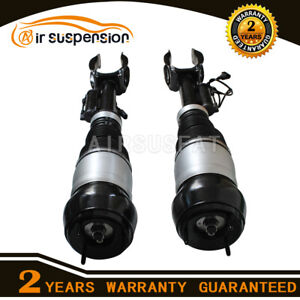 2X Front Air Suspension Shock Strut w/ADS For Mercedes GL ML Class W166 X166