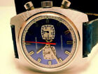 VINTAGE (WAKMANN BY BREITLING) CHRONOGRAPH 2 REGISTER DOUBLE EYE SUBS MENS WATCH