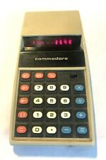 Commodore 887D  Calculator - Tested & Works!