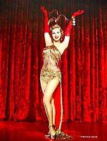 Pinup Lithograph Virginia Mayo 1952 VTG Warner Brothers Litho Promo Photo Rare
