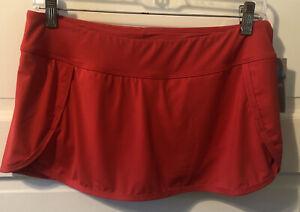NWT Athleta kata swim skort. red. size small $54. Bottoms Only.