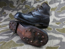 WW2 VTG GERMAN ARMY  ELITE SOLDIERS LOW ANKLE BOOTS SHOES W/HOBNAILS