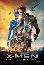 X-MEN DAYS OF FUTURE PAST 2014 Original Promo Mini Movie Poster Jackman Lawrence