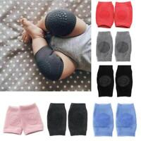 6colors Baby Crawling Soft Knee Pads Safety Non-slip Walking Leg Elbow Protector