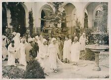 PARIS c. 1930 - Sultan du Maroc Mohamed V Délégation à la Mosquée - PRM 447