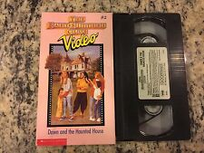 THE BABY-SITTERS CLUB VIDEO #2 DAWN AND THE HAUNTED HOUSE VHS! NOT ON DVD 1990!