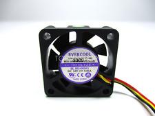 EVERCOOL EC3010L12EA Super quiet cooling fan DC12V 0.06A 30*30*10mm 3wire