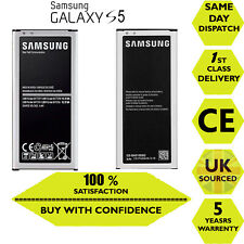 Original 100% Replacement Samsung Galaxy S5 SM-G900  EB-BG900BBE 2800mAh Battery