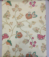 Vintage Wallpaper Floral Yellow by Motif