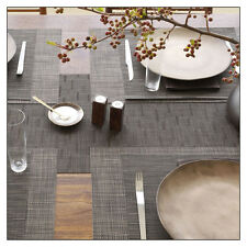 Chilewich Bamboo Tablemats (SET OF 4) - 3 styles and lots of colors