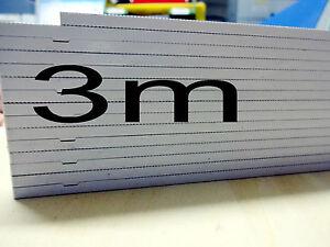 Zollstock 3 Meter 3m Maßstab Kunststoff Winkelgradfunktion Gliedermaßstab Präsen