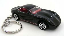 Custom Keychain TVR Tuscan S Black and Red Key Chain Ring Fob