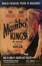 THE MAMBO KINGS - Pre Broadway Poster Windowcard RARE