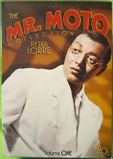 Mr. Moto Collection - Volume 1 (DVD, 2006, 4-Disc Set)