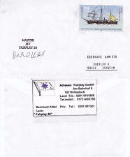 GERMAN Patrol Boat MV Fairplay un maestro firmato Navi inseriti nella cache COVER