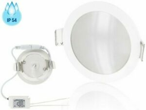 LED Spot Damp Areas Recessed Light Slim IP54 5W 400lm - Mounting Bath Ceiling
