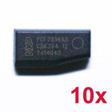 10x TRANSPONDER KEY NXP ID46 PCF7936AS BLANK CHIP KEY CAR LLAVE CHIAVE PCF7936